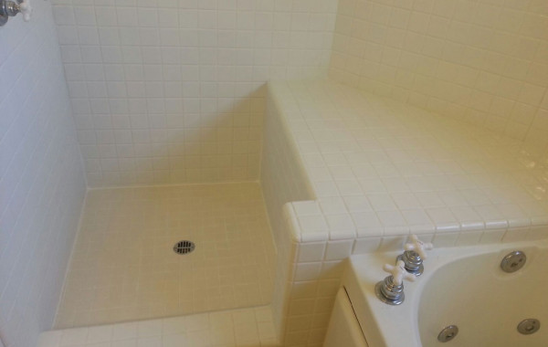 Ceramic Tile Shower Restoration