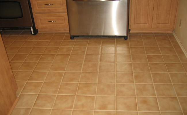 Porcelain Tile Professionally Cleaned