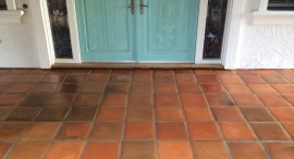Tecate Paver Porch Professionally Restored