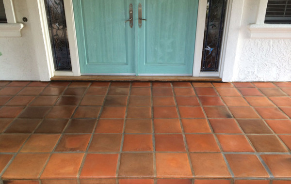 30-Year-Old Tecate Paver Porch