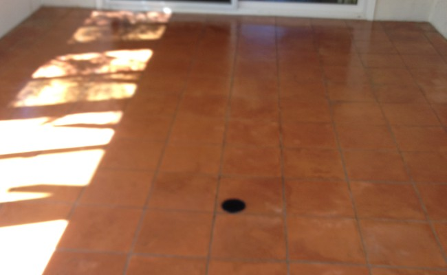 Terracotta Pavers After