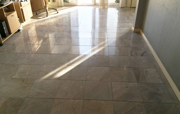 Marble Floor Refinished