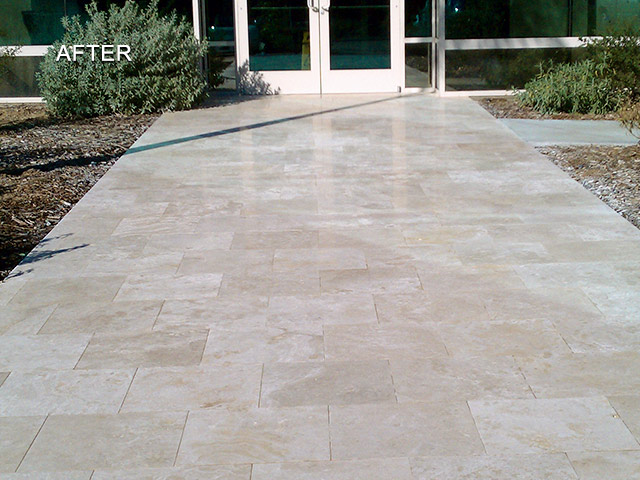 Travertine After Restoration