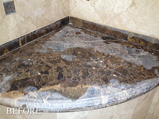 Marble Bench Soap Film