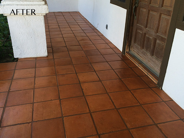 Custom Stained Pavers San Diego