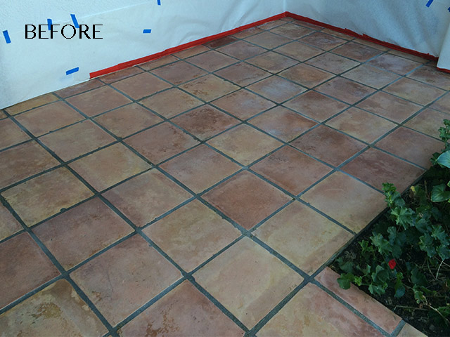 Faded Pavers Need Restoration