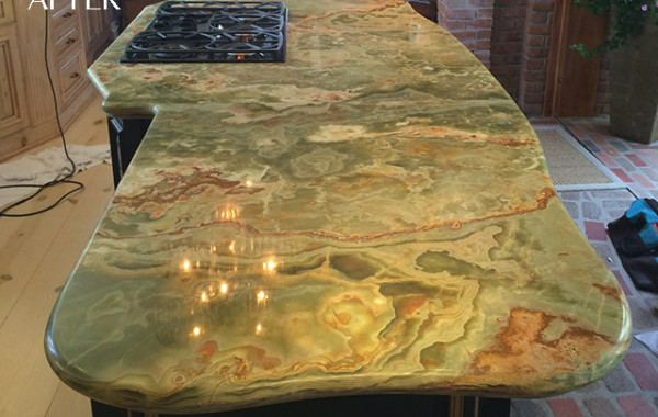 Onyx Countertops Polished