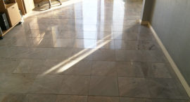 Marble Floor Lippage Removed