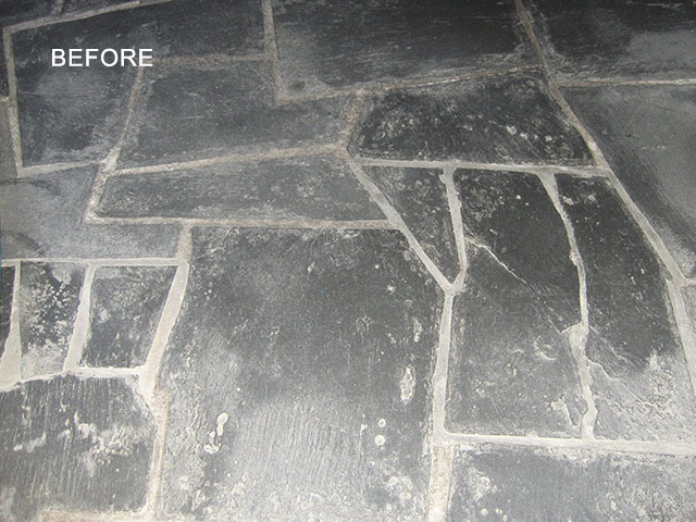 Slate Before Restoration
