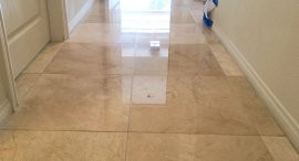 Marble Floor Polished Finish After